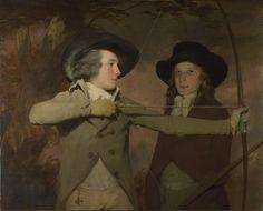 Sir Henry Raeburn,'The Archers' (1789-90)