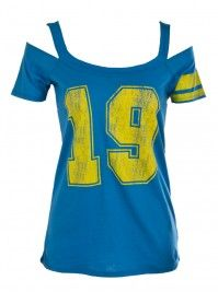 Add a tank top underneith OR  a great shirt for bed..
