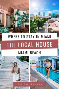The Local House Hotel is perfect for your next Miami summer getaway. Steps away from the beach with plenty of amenities, a great pool, and a laid-back beach vibe make this hotel amazing. Check out the full hotel review on my blog!