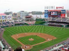 The stadium of my favorite baseball team....the Washington Nationals!!!