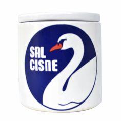 Pote De Ceramica Sal Cisne   799