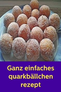 Sehr einfaches Quarkbällchen-Rezept - # Check more at kuc hefo net/ Pancake Healthy, Best Pancake Recipe, Limoncello, Mi Recipe, Curd Recipe, Chocolate Cake From Scratch, Dessert Oreo, Pancakes From Scratch, Austrian Recipes