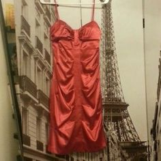 I just discovered this while shopping on Poshmark: Beautiful Red Dress with Straps. Check it out!  Size: 5/6