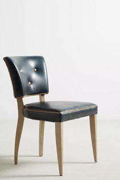 Premium Leather Promena Dining Chair | Anthropologie