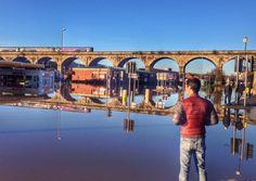 West Leeds floods: Kirkstall under water today Leeds City, Sunny Sunday, Marina Bay Sands, Sky, History, Places, Water, Travel, Heaven
