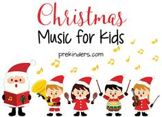 Fun Christmas songs for your Preschool to Kindergarten kids to enjoy during the holiday season! Videos for Music and Movement, keep active kids busy. Christmas Music For Kids, Preschool Christmas Songs, Childrens Christmas Songs, Best Christmas Songs, Christmas Program, Christmas Concert, Preschool Songs, Christmas Activities, Christmas Themes