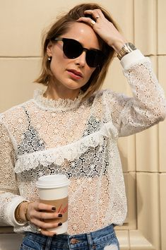 Over coffee with: Anine Bing Looks Street Style, Looks Style, Annie Bing, Casual Outfits, Fashion Outfits, Womens Fashion, Girly Outfits, Emo Fashion, Curvy Fashion