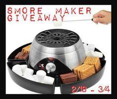 Kalorik S'more Maker Giveaway | Frugal Follies