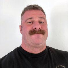 Moustache dude
