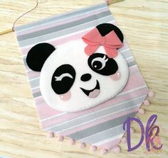VK is the largest European social network with more than 100 million active users. Felt Kids, Felt Baby, Felt Crafts, Diy And Crafts, Panda Baby Showers, Diy Rocket, Panda Party, Paper Crafts Origami, Bunting Banner