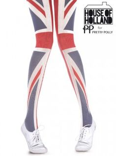 Get Jubilee ready in these funky flag pattered tights from master of design Henry Holland. Featuring a patriotic flag design, they will see you through the Jubilee celebrations all the way to the Olympics. Nylons, Henry Holland, Uk History, British Invasion, Save The Queen, High Knees, English Style, Union Jack, Tight Leggings
