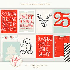 Project Life Christmas Joys Vintage Inspired Personal Use Only