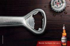 Ichnusa Beer Brand Campaign by Marco Santarelli, via Behance