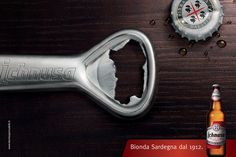Ichnusa Beer Brand Campaign by Marco Santarelli, via Behance