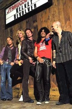 Velvet Revolver. Lovely photo