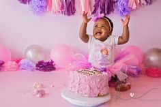 Beautiful little Afika came for her session on her actual birthday! She looked like such a little princess in her tutu, and this one knew how to throw out some fierce poses! Unfortunately, Afika wa… Cake Smash, Little Princess, Photographs, Birthday Cake, Desserts, Baby, Beautiful, Tailgate Desserts, Deserts