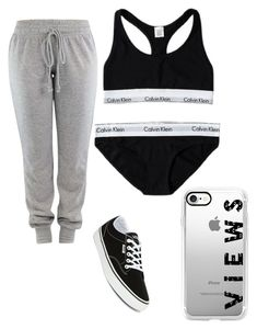 """""""Untitled #436"""" by kaylaxoxo24 ❤ liked on Polyvore featuring Calvin Klein, Casetify and Vans"""