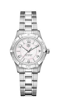 TAG Heuer Women's WAF1311.BA0817 Aquaracer Quartz Watch - List price: $1,700.00 Price: $1,195.00