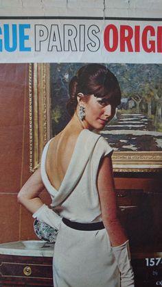 38 inch bust RARE uncut Vogue Paris Original by StarletPatterns