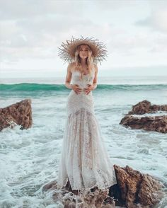 "@ido_events_: ""The days at the beach are gone and I already long for the sea • Doesn't this capture awaken all the…"" wedding gown"