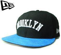 【ニューエラ】【NEW ERA】9FIFTY BROOKLYN レザーバイザー ブラックXブルー ストラップバック【CAP】【newera】【ブルックリン】【帽子】【スナップバック】【BLACK】【黒】【クロコダイル】【キャップ】【あす楽】【楽天市場】