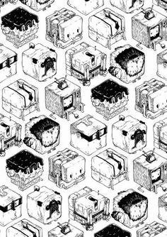Geometryzacja T Wei :: Magazyn Akademia Sztuki :: Sztuka Design Architektura :: Inspiracje