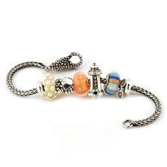 Trollbeads Beach Babe Starter Bracelet.