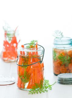 Vietnamese-style pickled carrots and daikon radish