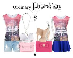 """""""Ordinary or extraordinry"""" by ohkally ❤ liked on Polyvore featuring Vero Moda, Mulberry, The Cambridge Satchel Company, Converse, Chinese Laundry, Maison Margiela and Lagos"""