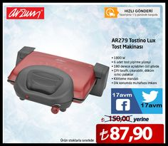 17AVM.COM: ARZUM AR279 TOSTİNO LUX TOST MAKINASI  150.00 TL y...