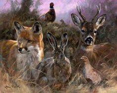 English Wildlife by John Trickett