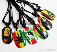 New Bob Marley Pendant Necklace Hip Top Styles Necklace Wholesale Mens Fashion Jewelry Jewelry Design Gold Charms From Hallo713119, $11.06| Dhgate.Com