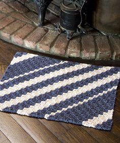 Crochet Rug Pattern @ DIY Home Ideas
