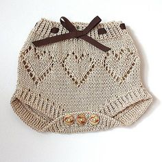 Ravelry: Baby Pants Diaper Cover Sweet Hearts (flat knitting) pattern by Julia Noskova