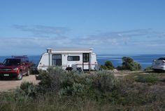 Wauraltee beach camping area, South Australia