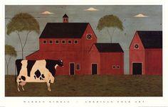 Nellie's Barn~~Warren Kimble