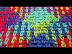 DIY Tutorial - How to Crochet Planned Pooling Technique for a Super Scarf and Afghan Blanket - YouTube