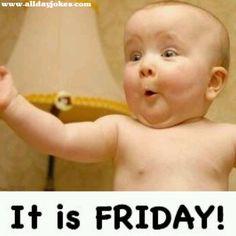 Finally Friday Humor   Daily Jokes: Finally it's Friday