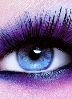 Blue Eye & Blue/Purple Make-up