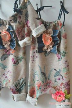 Sitter and newborn floral rompers oliveandevie.bigcartel.com