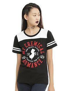 My Chemical Romance Girls Football T-Shirt,