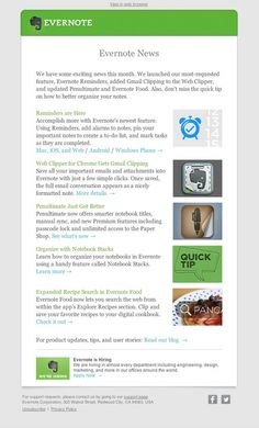 Evernote News