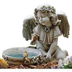 Angel Bird Bath