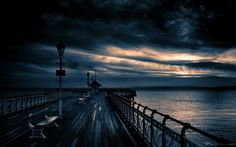 Penarth Pier - Penarth, Cardiff, UK