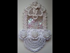 tutorial shabby chic shaker ornament - YouTube