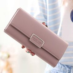 Pu Leather, Leather Wallet, Wallets For Girls, Pocket Cards, Wallets For Women Leather, Womens Purses, Girls Bags, Clutch Wallet, Card Wallet