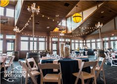 Love the lights over the dance floor. Jennette's Pier Wedding / Outer Banks Wedding / Photo by Daniel Pullen Photography http://www.ncaquariums.com/jennettes-pier-plan-your-event #jennettespierwedding #outerbankswedding #obx