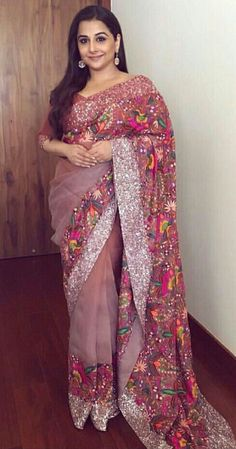 Order Party wear saree on WhatsApp number 919619659727 or ArtistryC. Bollywood Sarees Online, Bollywood Fashion, Bollywood Actress, Fancy Sarees, Party Wear Sarees, Pakistani Outfits, Indian Outfits, Modern Saree, Simple Sarees
