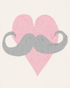Mastache Love 8x10 Illustration Print $16