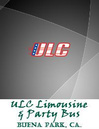 ULC Limousine And Party Bus Service In Buena Park California
